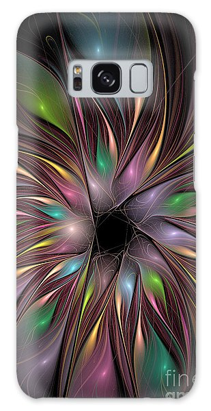 Soft Colors Of The Rainbow Galaxy Case by Deborah Benoit
