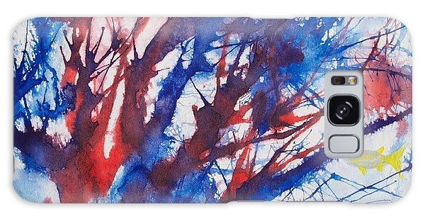 Soft Coral Splatter Galaxy Case