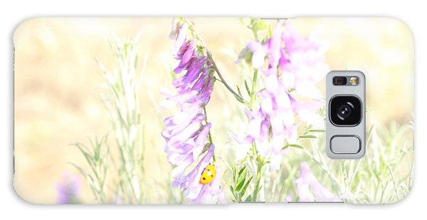 Soft Desert Flower Galaxy Case