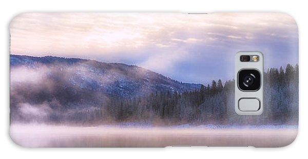 Soft Light Of Winter Galaxy Case