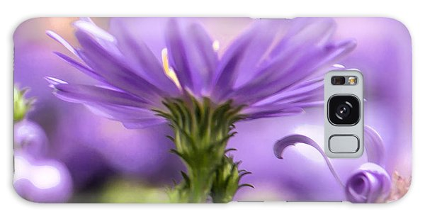 Galaxy Case featuring the photograph Soft Lilac by Leif Sohlman