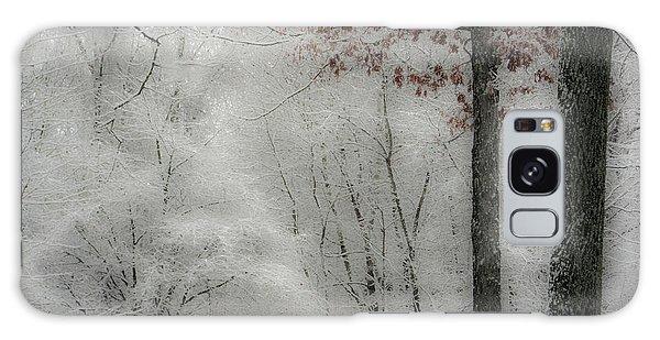 Soft Snow Galaxy Case by Nancy De Flon