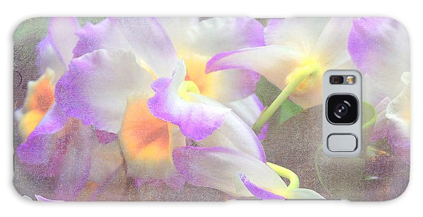 Soft Subtle Orchids Galaxy Case