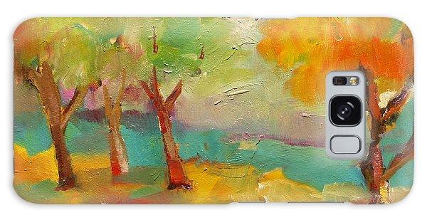 Soft Trees Galaxy Case
