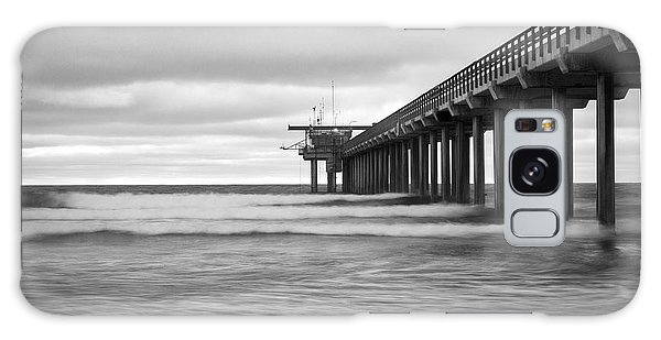 Soft Waves At Scripps Pier Galaxy Case