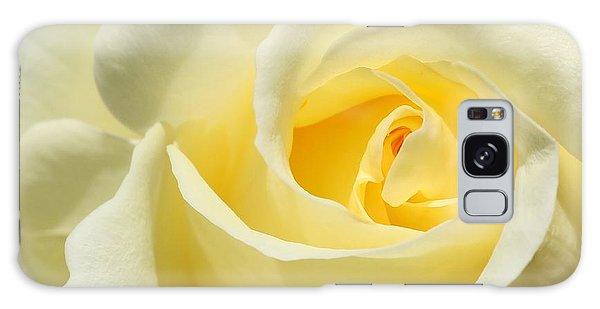Soft Yellow Rose Galaxy Case