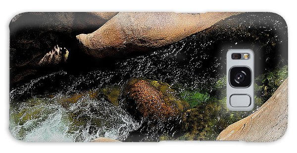 Softly Flowing Stream Galaxy Case