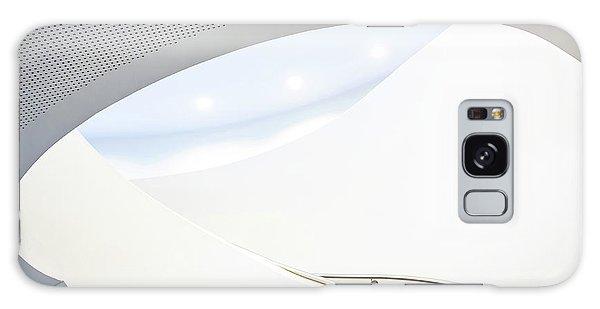 Round Galaxy Case - Softtone Stairs by Jan Niezen
