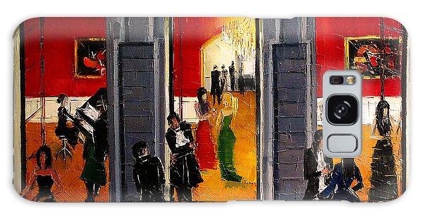 Banister Galaxy Case - Soiree Parisienne by Mona Edulesco