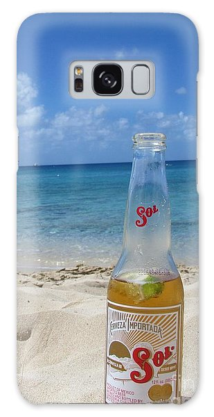 Sol On The Beach Galaxy Case