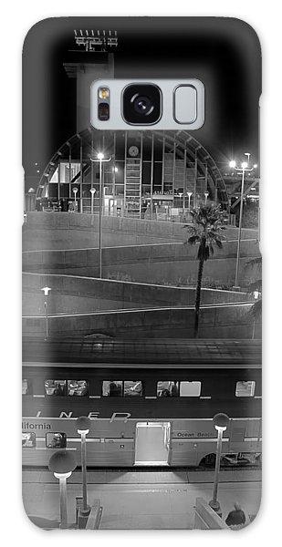 Solana Beach Train Station Galaxy Case
