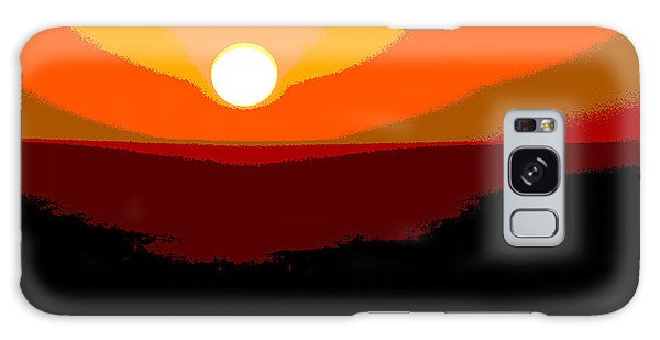 Solar Abstract Galaxy Case