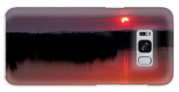 Solar Eclipse Sunset Galaxy Case by Jason Politte