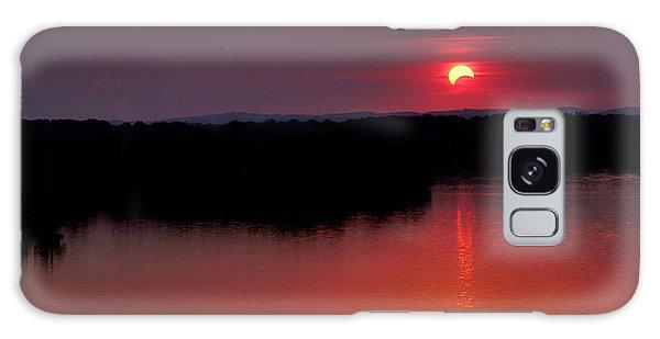Solar Eclipse Sunset Galaxy Case by Jason Politte