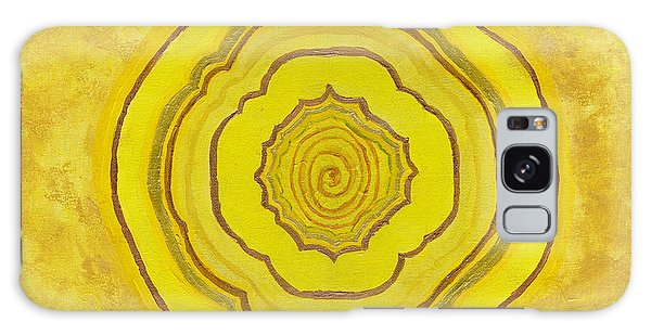 Solar Plexus Flower Galaxy Case