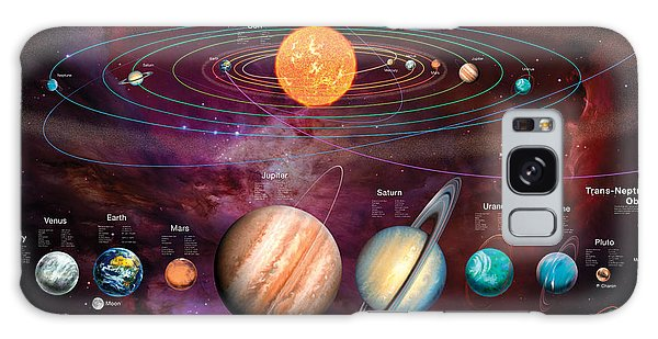 Jupiter Galaxy Case - Solar System 1 by MGL Meiklejohn Graphics Licensing