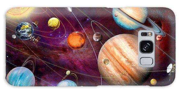 Scientific Illustration Galaxy Case - Solar System 2 by MGL Meiklejohn Graphics Licensing
