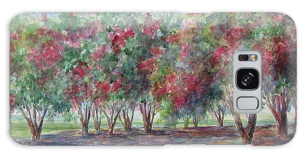 Sold Southern Crepe Myrtles Galaxy Case by Gloria Turner