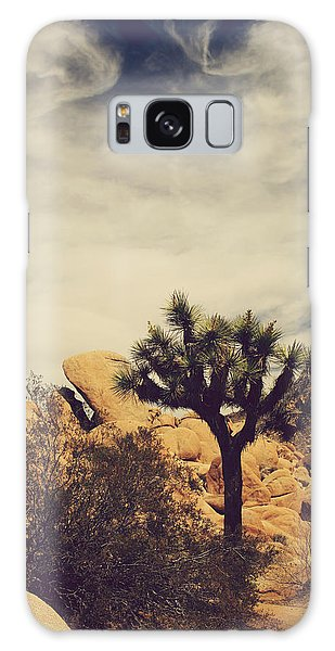 Solitary Man Galaxy Case by Laurie Search