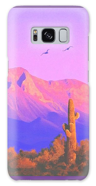 Solitary Silent Sentinel Galaxy Case