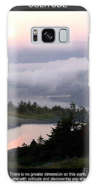 Solitude Galaxy Case by Mary Lou Chmura