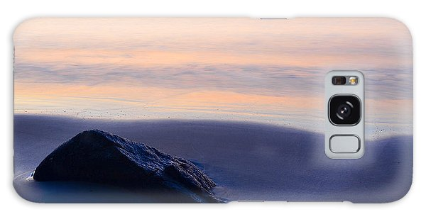Galaxy Case featuring the photograph Solitude Singing Beach by Michael Hubley