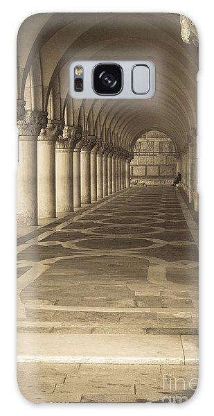 Solitude Under Palace Arches Galaxy Case