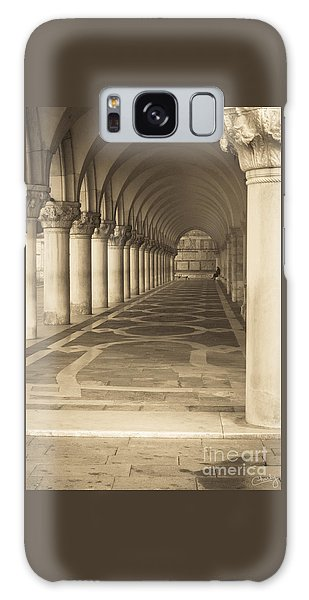 Solitude Under Palace Arches Galaxy Case