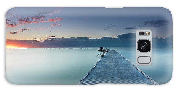 Pier Galaxy Case - Solitude3 by Alexandru Popovski