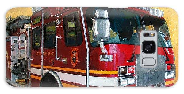 Solon Fire Engine Galaxy Case