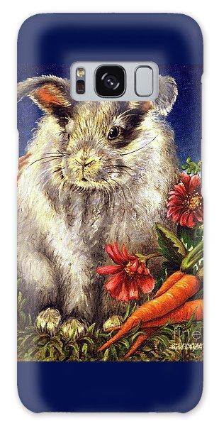 Some Bunny Is A Fuzzy Wuzzy Galaxy Case