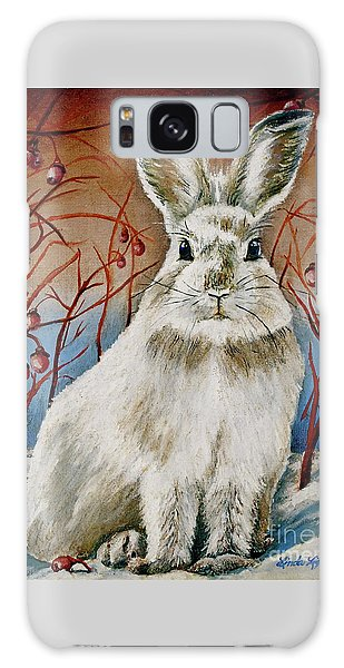 Some Bunny Is Charming Galaxy Case by Linda Simon