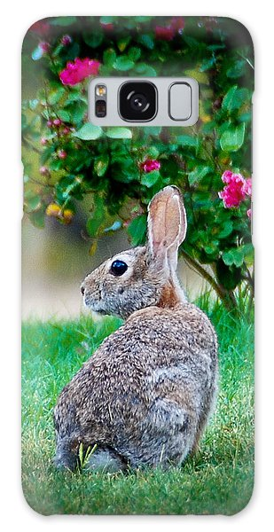 Some Bunny Loves You Galaxy Case
