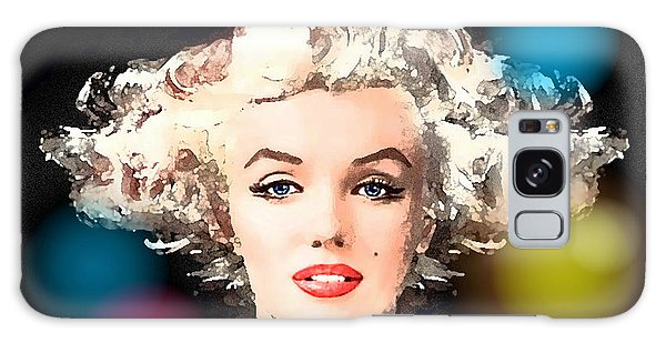 Marilyn - Some Like It Hot Galaxy Case