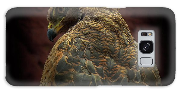 Hawk Galaxy Case - Somebody Watch Me-savanna Hawk by Ferdinando Valverde