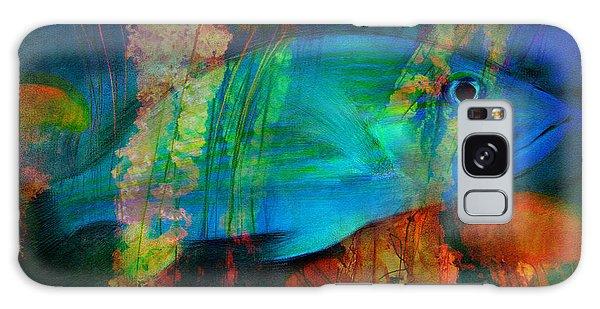 Something Fishy Galaxy Case by Erika Weber