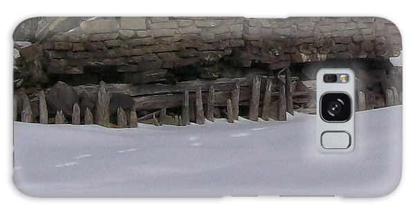 John Hinker's Coal Dock. Galaxy Case by Jonathon Hansen