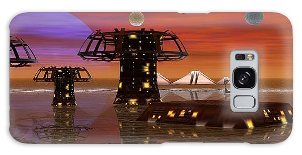 Somewhere In Space Galaxy Case by Jacqueline Lloyd