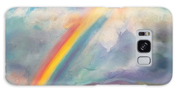 Somewhere Over The Rainbow Galaxy Case