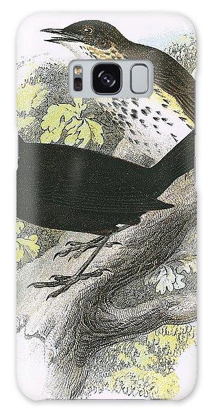 Song Bird Galaxy Case - Song-thrush Top And Blackbird Bottom by English School