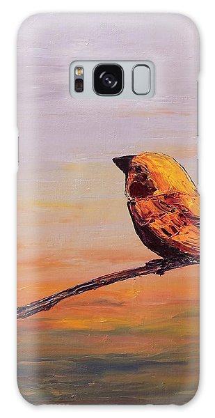 Songbird Series 1 Galaxy Case by Carolyn Doe