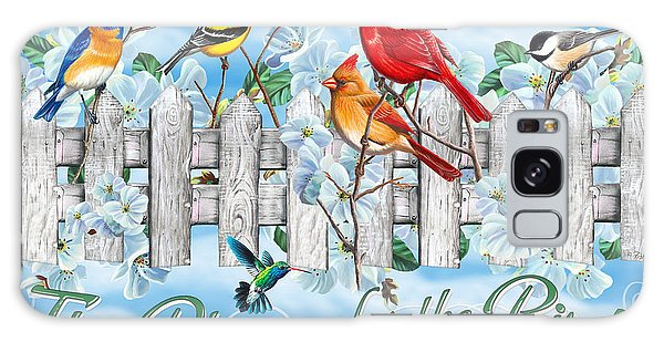 Cardinal Galaxy Case - Songbirds Fence by JQ Licensing