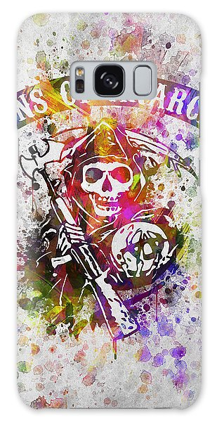 Sons Of Anarchy In Color Galaxy Case