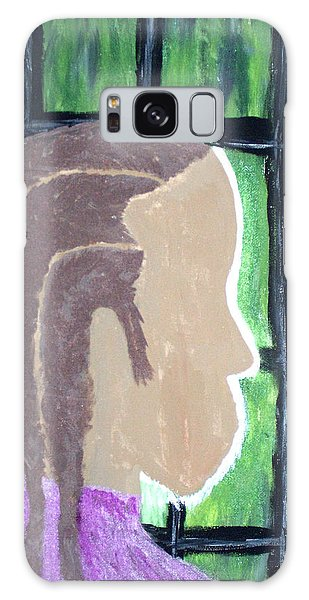 Abstract Man Art Painting  Galaxy Case