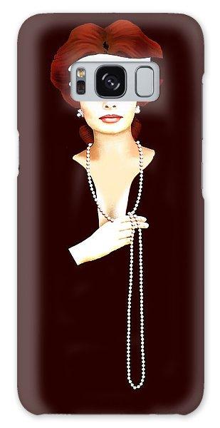 Sophia Loren 1 Galaxy Case by Jann Paxton