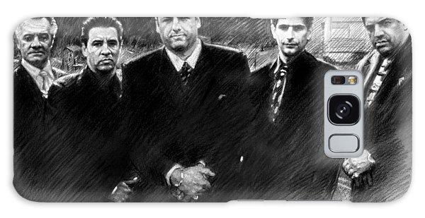 Sopranos James Gandolfini Galaxy Case by Viola El
