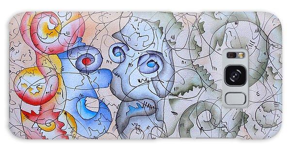 Galaxy Case - Sorrow by Zuzana Vass