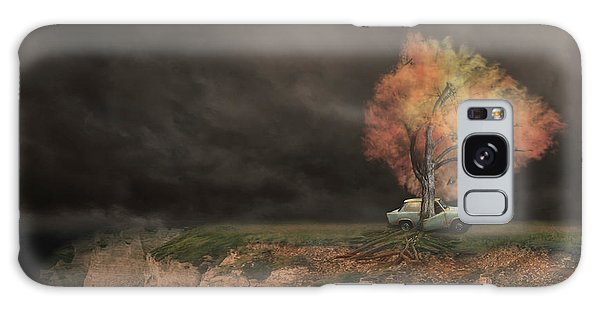 Old Car Galaxy Case - Sortie De Route 4 by David Senechal Photographie