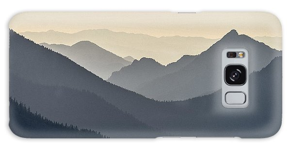 Sostice In The Olympic Mountains Galaxy Case by Ronda Broatch