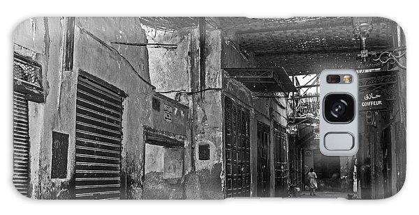 Souk Street In Marrakech Galaxy Case
